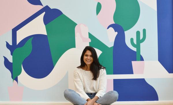 Amandine, directrice artistique chez Morning Coworking
