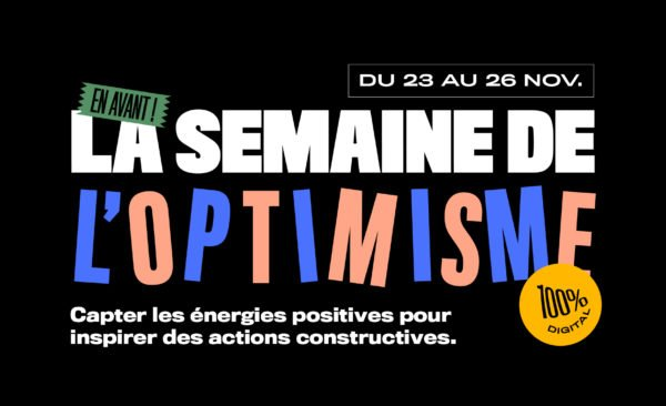 La Semaine de l'Optimisme : le replay