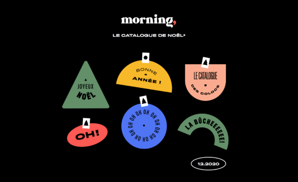 Le catalogue de Noël des colocs Morning